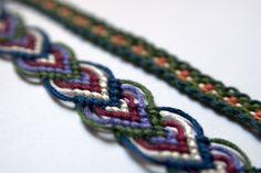 Wonderful DIY Pretty Leaf Friendship Bracelets | WonderfulDIY.com