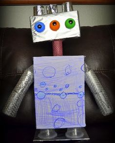 how to make your own tin can robot