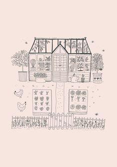 Paris Illustration, Plant Illustration, Ink Illustrations, Reflective Journal, Humble Design, Moleskine Sketchbook, Bujo, Watercolor Lettering, Desert Art