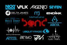 create AWESOME Music Dj Logo Design by talhadogar