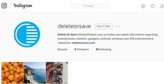 Like Us, Follow Us, Comment Us on our #Instagram Profile @ http://instagram.com/deleteorsave #deleteorsave