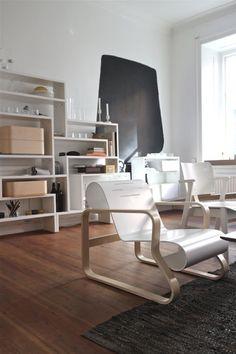 urbnite:Chair 41 by Alvar Aalto for Artek