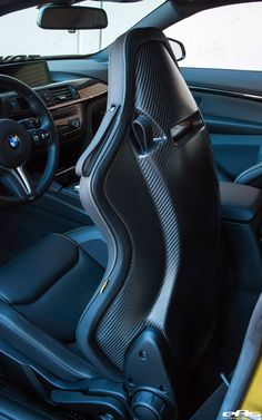 Sabelt SPS Racing Seat w/ Carbon Shell installed in AY M4