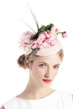 A Sugary Pink Floral Hat By Piers Atkinson for Ascot you say? Yes, please.