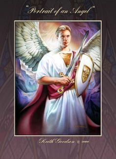 Nathan Greene - Portrait Of An Angel ~ This is what my guardian angel looks like not those cutesy cherib images.