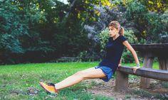 6 exercises + bench = one tough workout.