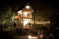 Building a tree house that most adults would happily call their home (15 Photos)