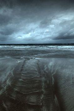 sea sky and land