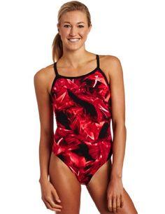 TYR Sport Women`s Firerock Diamondback Swim Suit $32.42