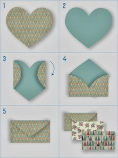 My Wedding Lab - Blog de Bodas, Moda y Cosas Bonitas: DIY: Sobres Handmade para las Notas de Agradecimiento en la Boda