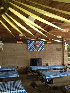 Oktoberfest decorations http://www.oktoberfesthaus.com