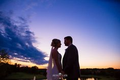 What a stunning sunset to end the evening with ... Congratulations to Megan and Jason on their Wedding day !