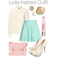"""""""Teen Wolf - Lydia Inspired Outfit"""" by stardustonthepiano on Polyvore"""