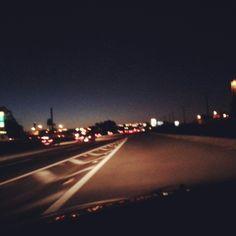 Pé na estrada....