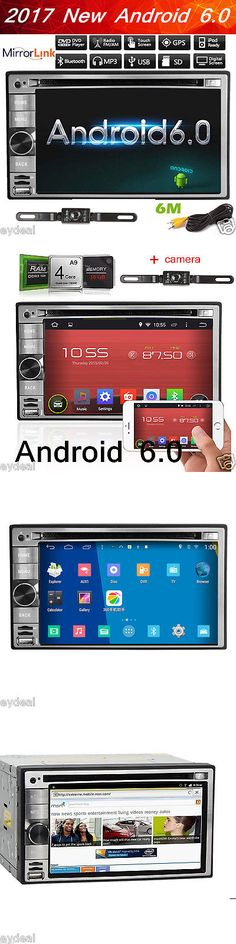 Vehicle Electronics And GPS: Hd Gps Navigation Android 6.0 Wifi 6.2 Double 2Din Car Radio Stereo Dvd Player BUY IT NOW ONLY: $209.0