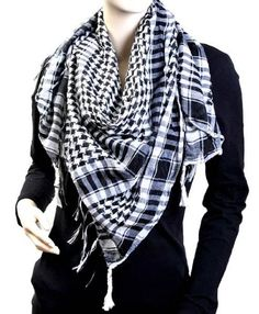 Houndstooth Square Shawl