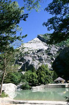 Le saut de la Drôme - Luc-en-Diois