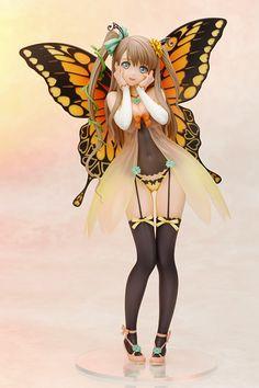 """KOTOBUKIYA Tony's Heroine collection """"Fairy☆Garden Freesia"""" Figure Decoration Master (Mass-Production Reference): Photo by KOTOBUKIYA Figure blog:  (http://www.kotobukiya.co.jp/figure-blog/figure-blog-57953/) © KOTOBUKIYA, ©Tony 2015  #Figure #Tony #KOTOBUKIYA"""