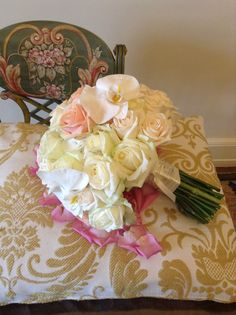 Pastel colour bouquet