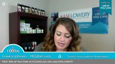 #AskLowery: On this episode: What's in the HCG formula?
