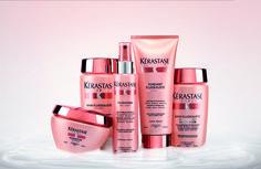Die neue Produktlinie DISCIPLINE von Kérastase überzeugt nicht nur KimMy. Infos unter http://www.shopping-erleben.ch/blog/ich-will-es-glatt