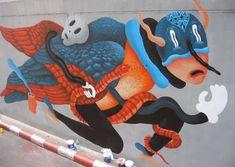 Paintings & Street Art by Saddo | Inspiration Grid | Design Inspiration