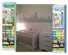 City Themed Nursery