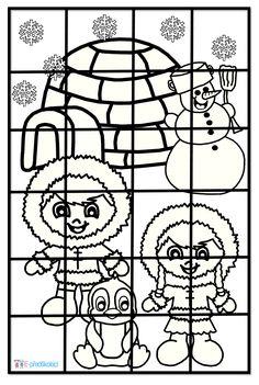 Eskymáci - puzzle