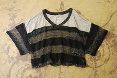ANTHROPOLOGIE FREE PEOPLE OPEN KNIT SWEATER HIPPIE BOHO CROP SHIRT TOP S 2 4 #FreePeople #KnitTop #Casual Hippie #croptop #coachella #festivalfashion #festival