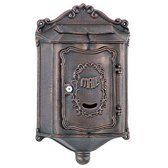 Amco Colonial Locking Wall Mount in Bronze by Amco Metal Industrial Corporation. $85.00. About the Amco Colonial Locking Wall Mailboxes Colonial architecture and modern day functionality, the heavy duty 100% cast aluminum Amco Colonial Wall Mailbox features filigree accents, a locking door and a small peek-in window to check for mail. Only the quality craftsmanship of the Amco Colonial Wall Mailbox with added strength and durability will provide you with the authentic...