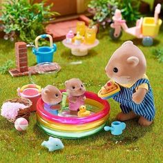 Calico Critters💛🌈