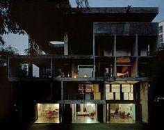 Le Corbusier's Villa Shodhan in Ahmedabad. Amazing.
