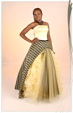 AfroRust - African Inspired Wedding Dress Design House | Ivory Coast