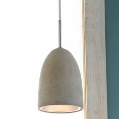 Mini Concrete Pod Pendant Light