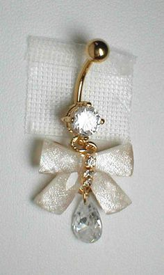 Unique Belly Ring Bow | eBay
