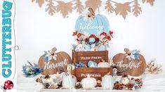 5 Farmhouse Fall Decor Ideas -  DIY Dollar Tree Decor 2020 - YouTube Dollar Tree Fall, Dollar Tree Decor, Dollar Tree Crafts, Fall Crafts, Diy Crafts, Harvest Farm, Fall Diy, Autumn Trees, Thanksgiving Decorations