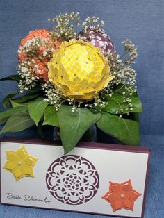 Eastern Palace Bundle, stryofoam flowers, stampin' Up!