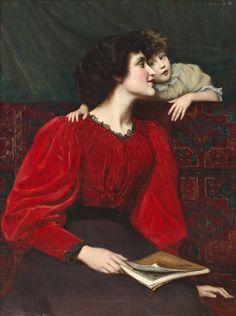 Mother and Child (1899). William Mainwaring Palin (British, 1862-1947).