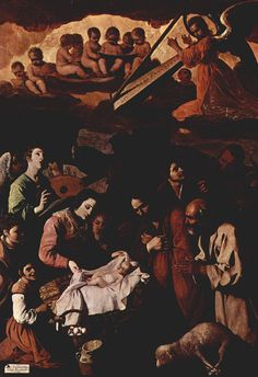 Сурбаран,_Франсиско_де. Поклонение пастухов. 1639. Музей изящных искусств. Гренобль.