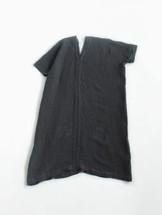 wrinkle linen square tunic