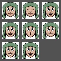 Talking Head Animation Frames