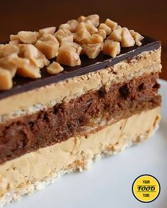 Checkout the best toffee opera cake recipe on the net! Once you try this delicious goodness, you will want more and more!