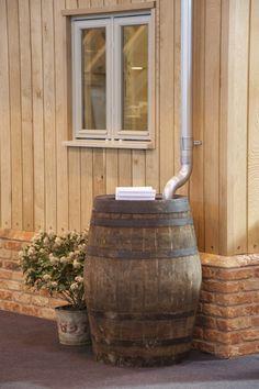 het wijnvat staat klaar, nu nog ombouwen