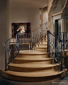 100s of Staircase Design Ideas  http://www.pinterest.com/njestates/staircase-ideas/  Thanks to http://www.njestates.net/       Structures - François & Co.