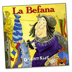 La Befana (Italian) and other Italian books for kids