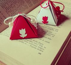 ♥ handmade pyramid gift box 2 ♥