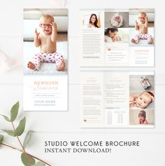 Photography Brochure, Photography Guide, Photography Marketing, Newborn Photography, Photoshop Elements, Fotografie Guide, Photo Projects, Business Card Design, Flyer Design