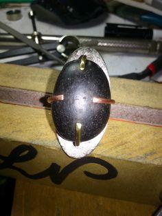 anillo tres metales