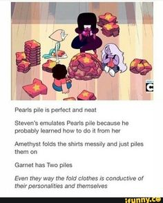 Is there like a secret factory somewhere in Beach City that just makes all these shirts for Steven?