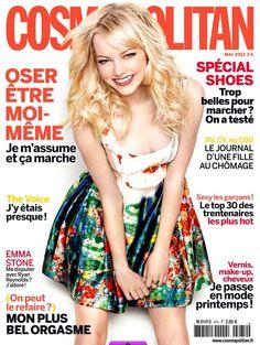 Emma Stone by Matthias Vriens-McGrath for Cosmopolitan France May 2013